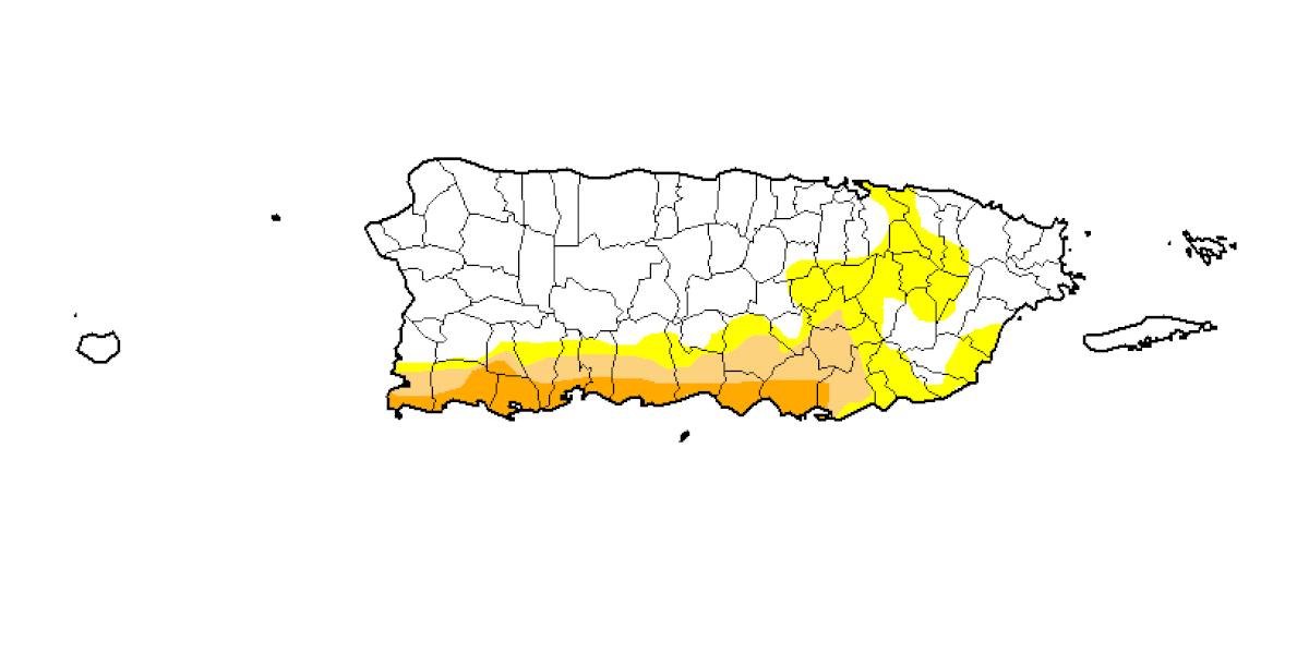 Se reduce el nivel de sequía severa