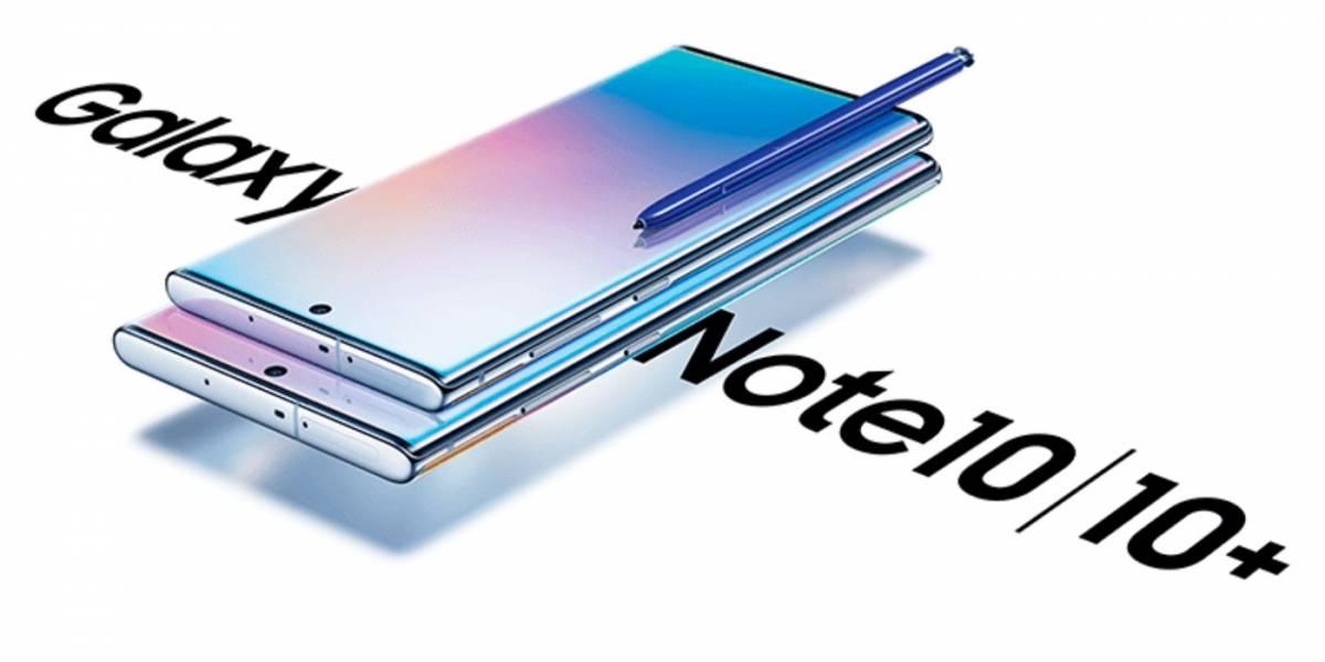 Precios y planes del Samsung Galaxy Note 10 y Note 10+ con Telcel en México