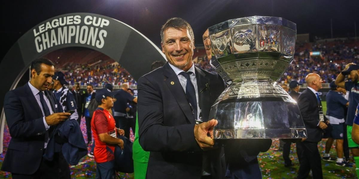 Siboldi agradece a Caixinha y a Peláez por título de Cruz Azul