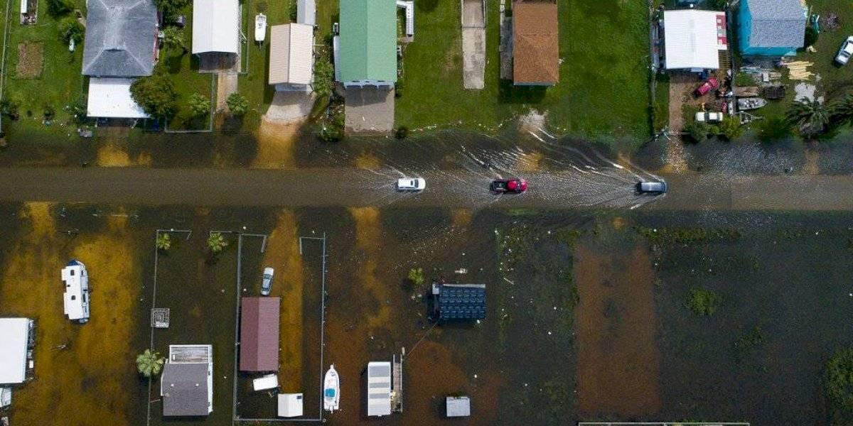El diluvio de Imelda continúa sobre Texas y Louisiana