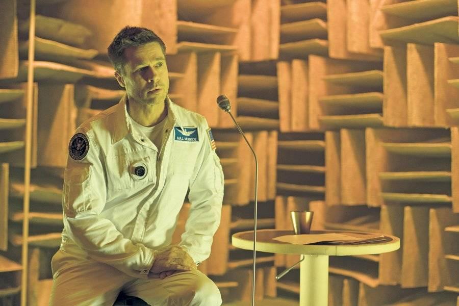 "Brad Pitt en la película ""Ad Astra"""