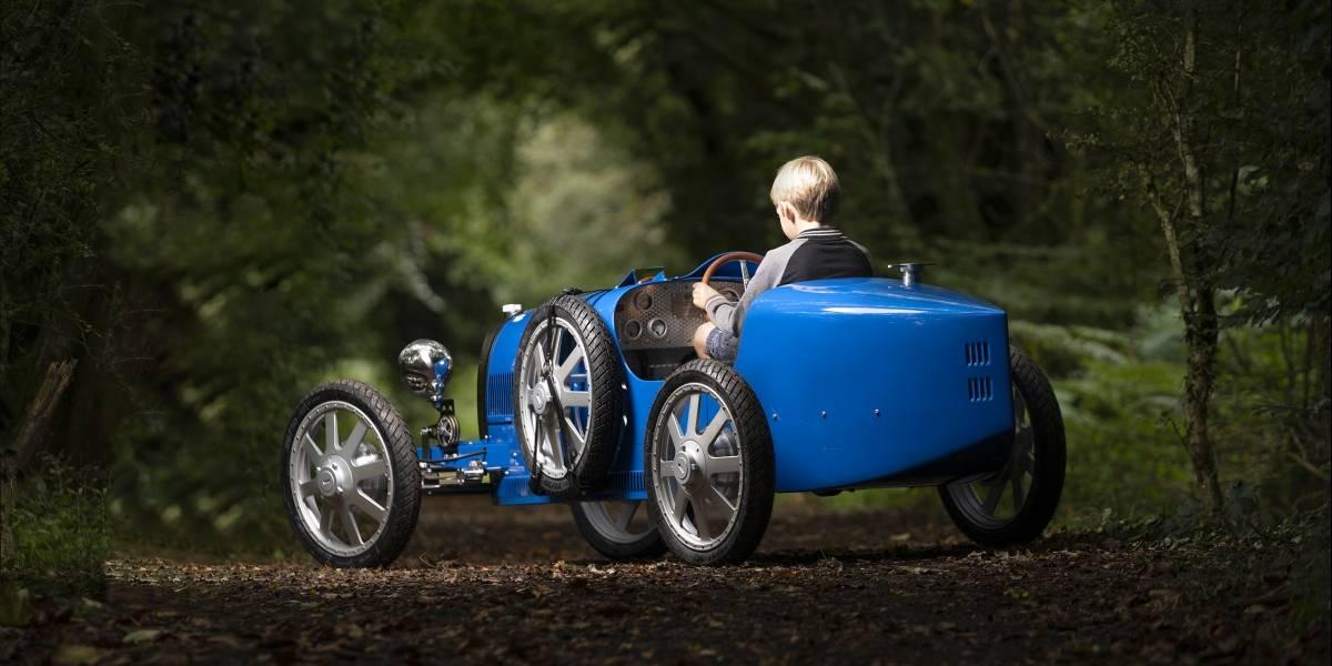 Bugatti Baby II, el vehículo para niños entusiastas con un costo arriba de los 650 mil pesos