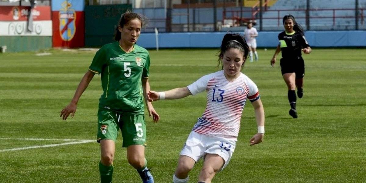 La Roja femenina sub 20 derrotó a Bolivia en su segundo partido por la Liga Sudamericana