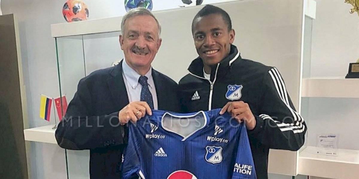 Liga Colombiana Faríñez renueva su contrato con Millonarios hasta 2022