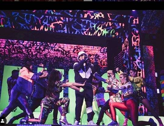 Bailarina de Karol G con Daddy Yankee Instagram
