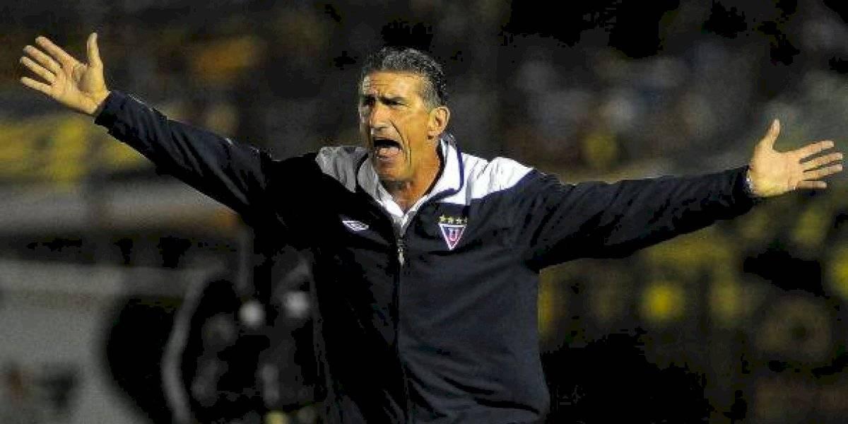 "Edgardo ""El Patón"" Bauza regresa a Liga Deportiva Universitaria"