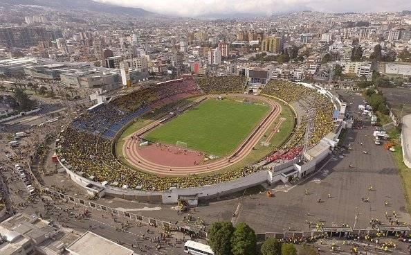 Estadio Olímpico Atahualpa Getty Images