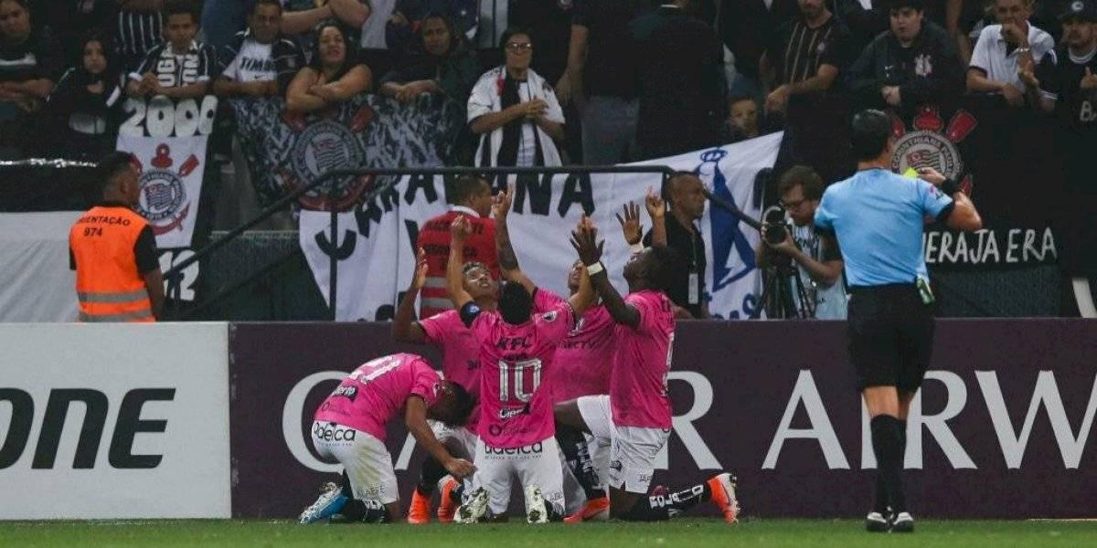 Independiente del Valle dio el batacazo ante Corinthians y tiene un pie en la final de la Copa Sudamericana