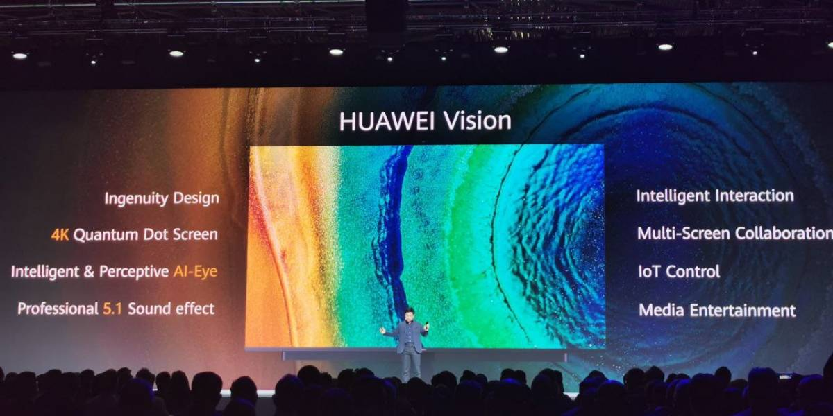 Huawei Vision es una inesperada y brutal pantalla inteligente 4K