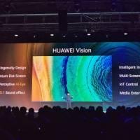 Huawei Vision es una inesperada y brutal pantalla inteligente 4K. Noticias en tiempo real