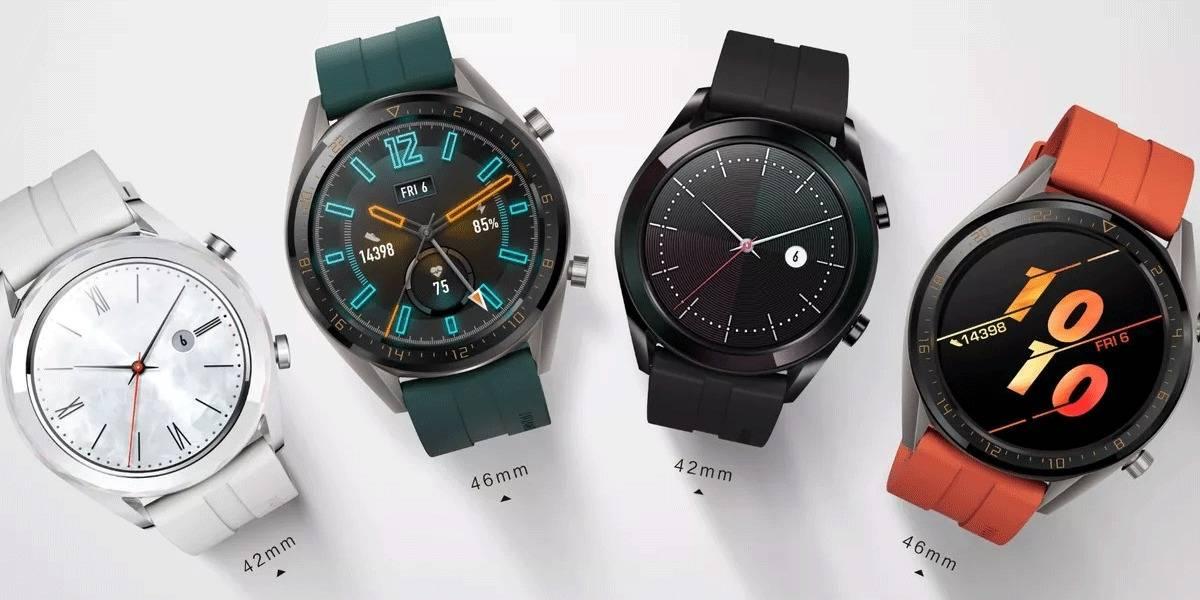 El Huawei Watch GT 2 tiene una batería que le dura 2 semanas