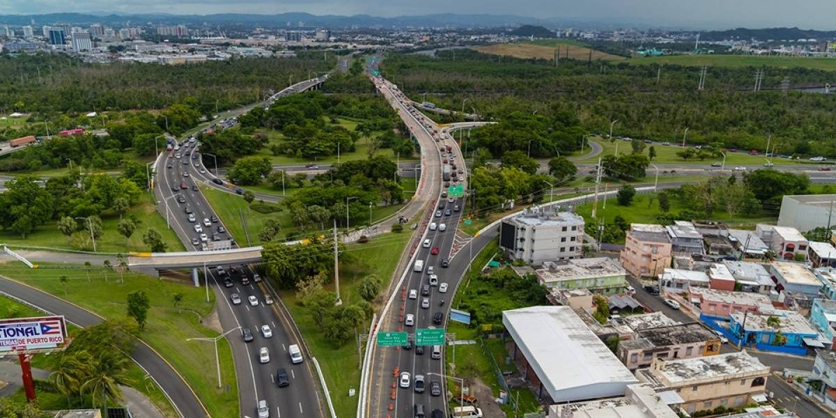 Se abren este fin de semana primeros dos carriles rehabilitados del puente sobre el Caño Martín Peña