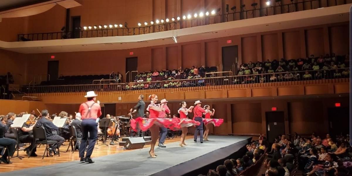 Orquesta Sinfónica ofrece concierto educativo a estudiantes de escuelas públicas