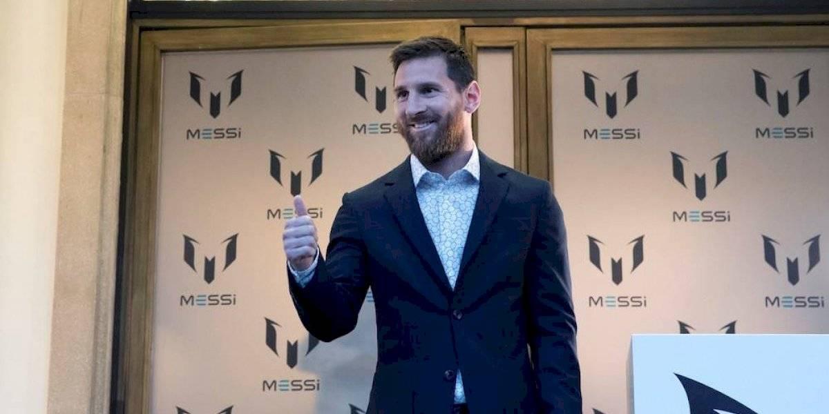 Messi lanza colección de ropa inspirada en su vida