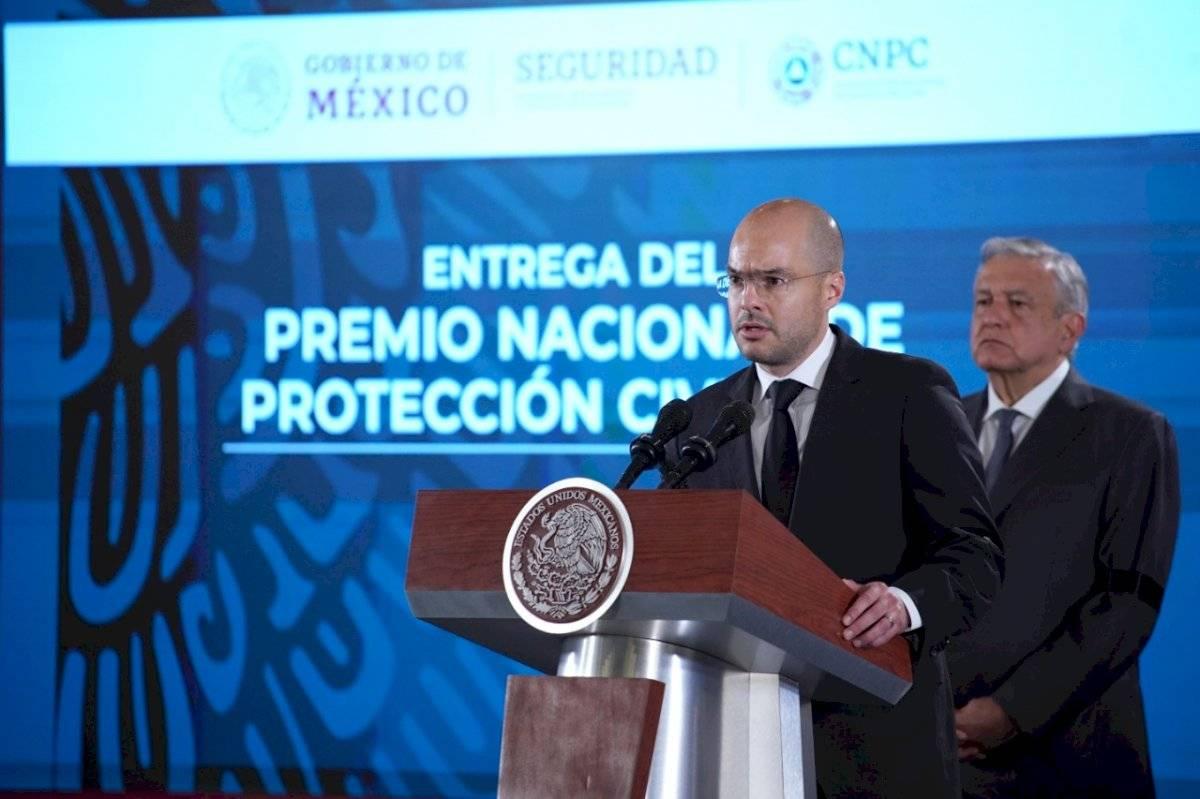 David León Romero, coordinador nacional de Protección Civil.