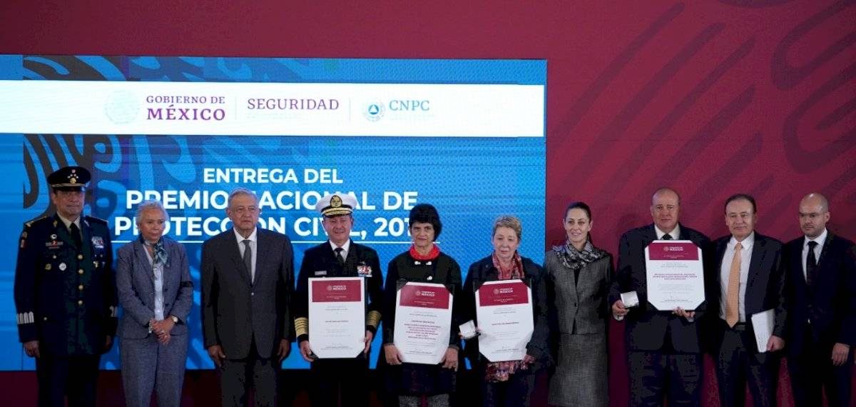 Premio Nacional de Protección Civil 2019.