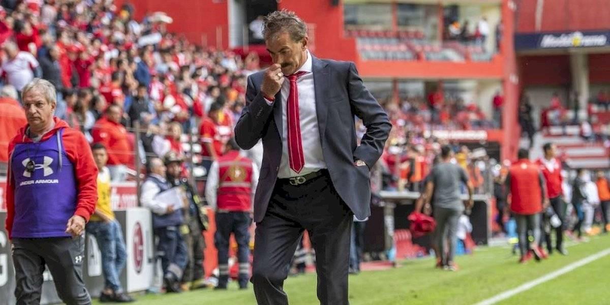 Ricardo La Volpe deja de ser técnico del Toluca