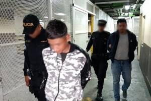 robacarros capturados en Santa Catarina Pinula