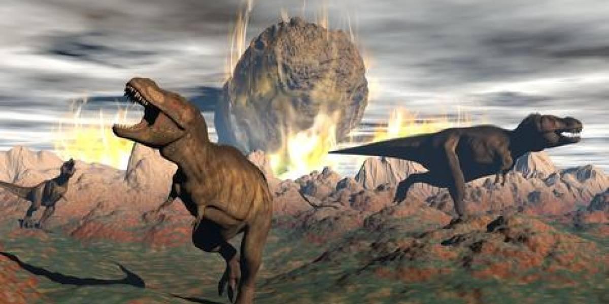 Una roca reveló las primeras horas de la extinción de los dinosaurios