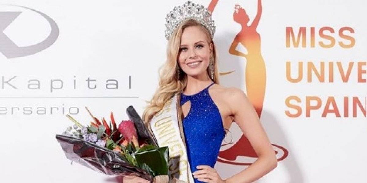 Angela Ponce corona a su sucesora Miss España 2019
