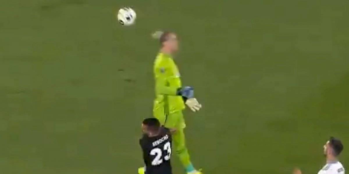 Loris Karius vuelve a hacer de la suyas, ahora en la Europa League