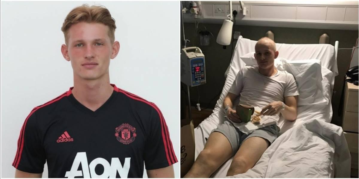 Jugador del Manchester United vuelve a entrenar después de superar el cáncer