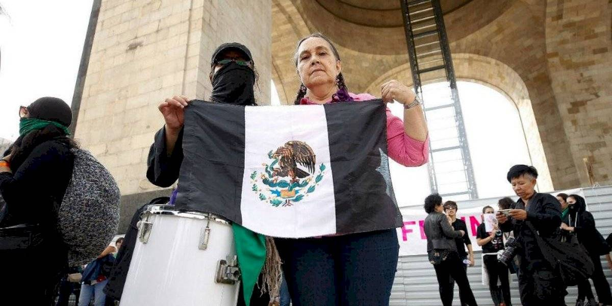 #TerremotoFeminista marcha en la CDMX para exigir alto a violencia de género