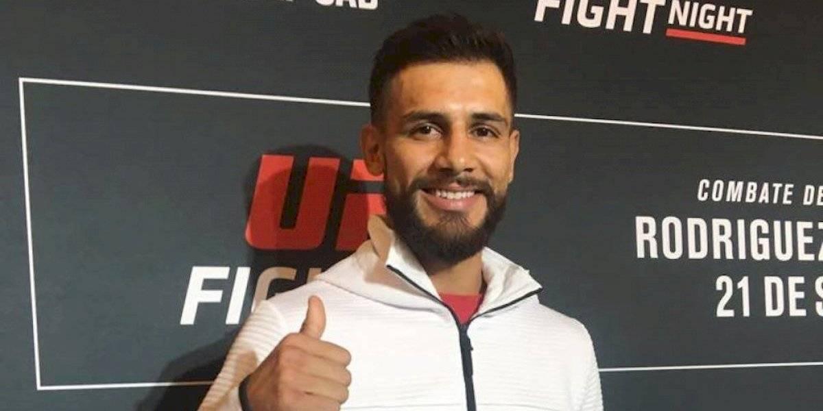 'Pantera' Rodríguez está listo para otra guerra en UFC México