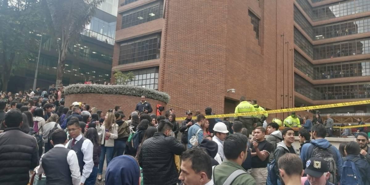Hombre cayó de un edificio de la Universidad Javeriana