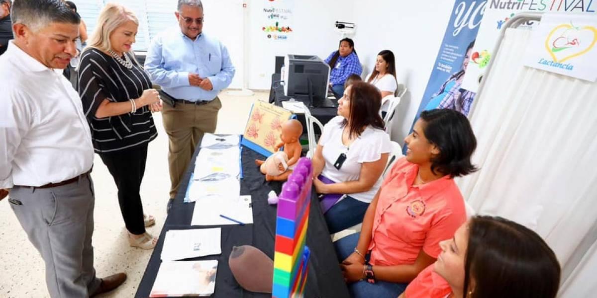Gobernadora asiste a evento conmemorativo de María en Yabucoa