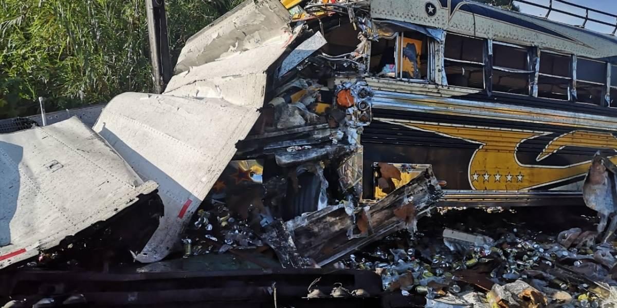 Dos muertos y al menos 30 heridos tras accidente en ruta a El Salvador