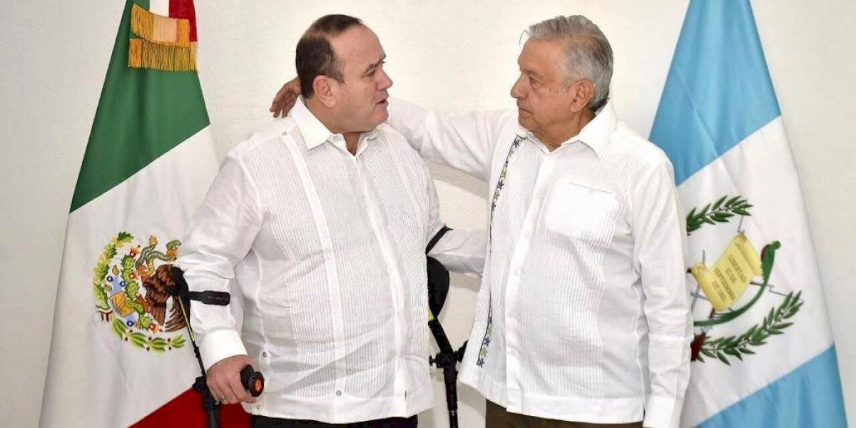 AMLO y Alejandro Giammattei hablan sobre pacificación de los pueblos