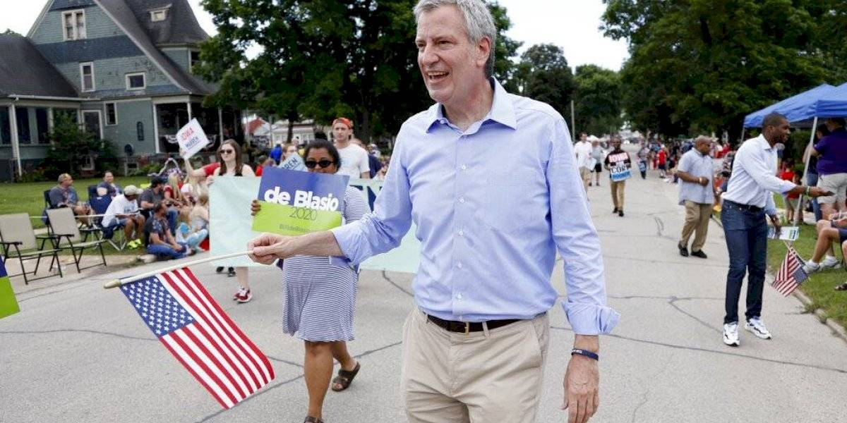Alcalde de NY se baja de contienda por candidatura presidencial