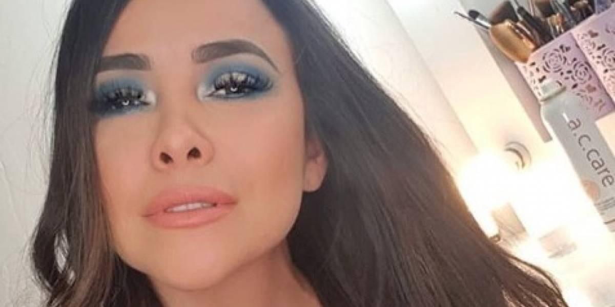 Adriana Sánchez relata cómo casi sufre un accidente de tránsito con su familia