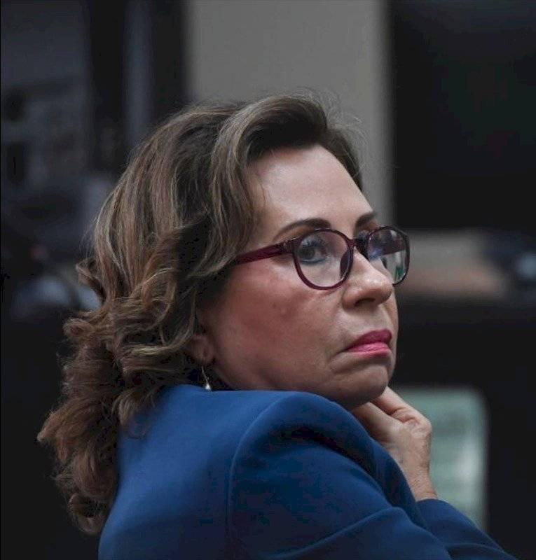 Sandra Torres, excandidata presidencial. Foto: Omar Solis
