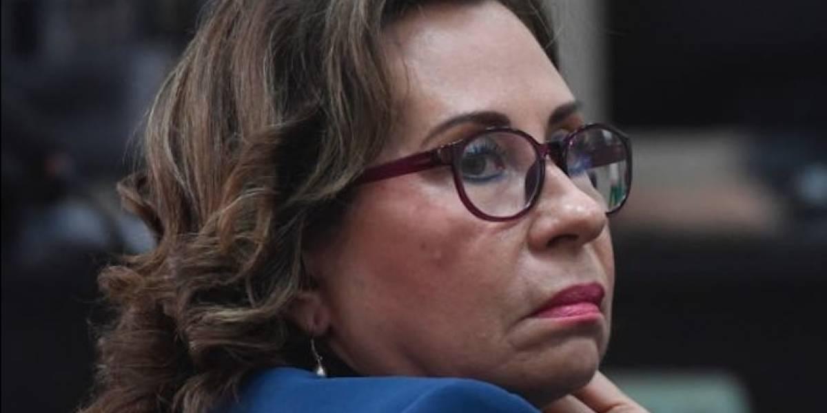 """Sandra Torres: """"¿Quiénes son los verdaderos traidores en la UNE?"""""""