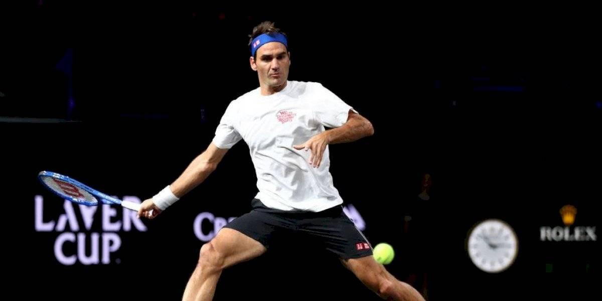 ¿No viene?: La agenda de Roger Federer complica su visita a Chile