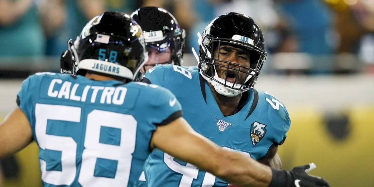 Jaguars consigue primer triunfo de la temporada frente a Titans