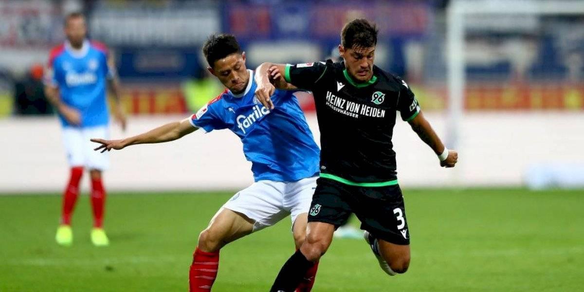 Miiko Albornoz fue titular y jugó los 90 minutos en triunfo del Hannover en la segunda división alemana
