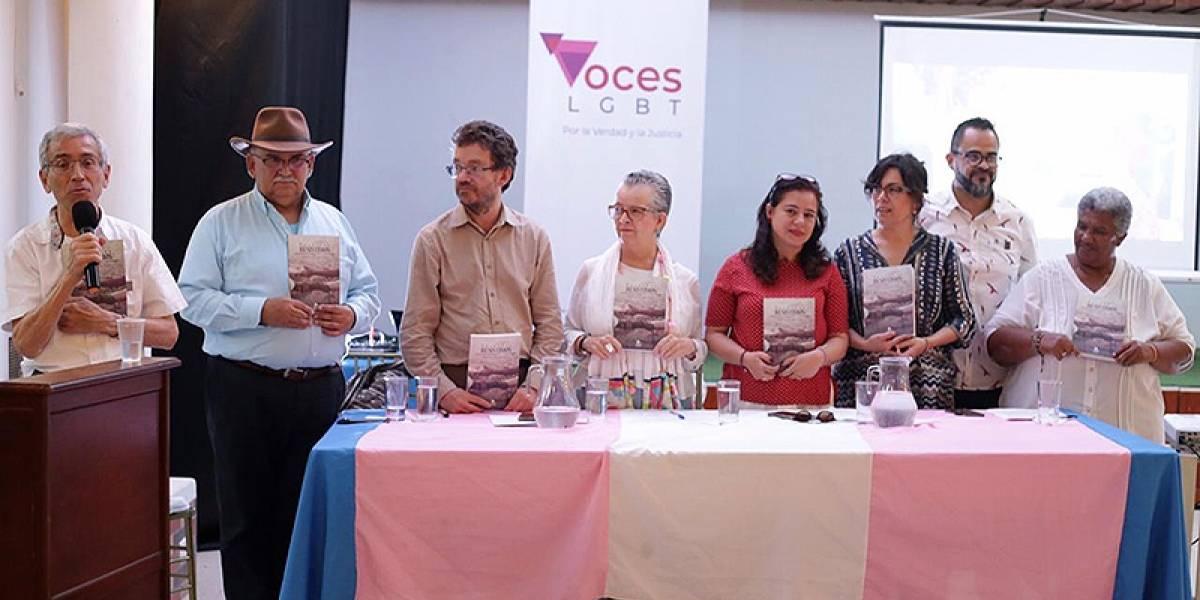 Informe sobre víctimas LGBTI fue presentando ante la Comisión de la verdad