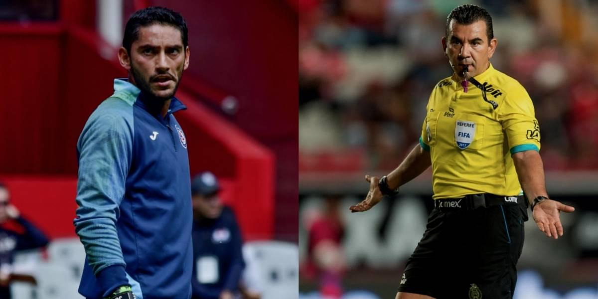'Qué poca madre': Jesús Corona al árbitro de la final de 2013