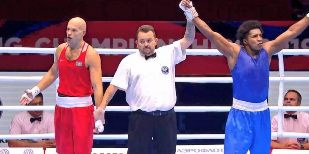 Julio Castillo, boxeador ecuatoriano, peleará en la final del Campeonato Mundial de Ekaterimburgo, Rusia