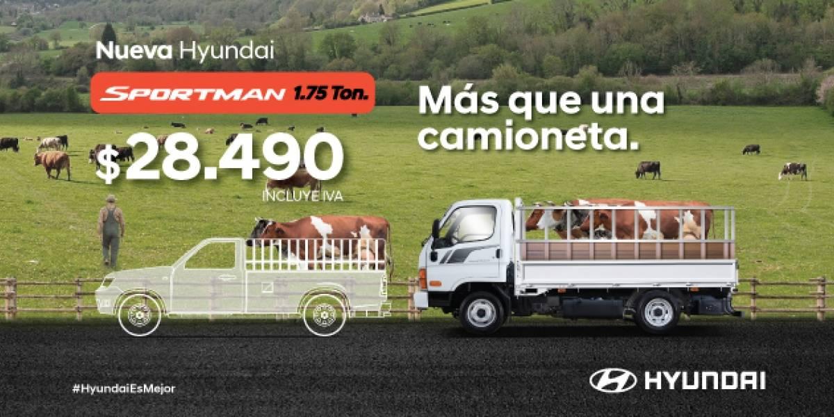 Sportman se suma a la familia de Hyundai: características y precio