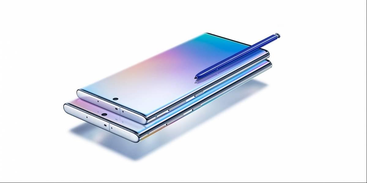 Galaxy Note 10: Teléfonos inteligentes premium que combinan diseño elegante con potencia y productividad