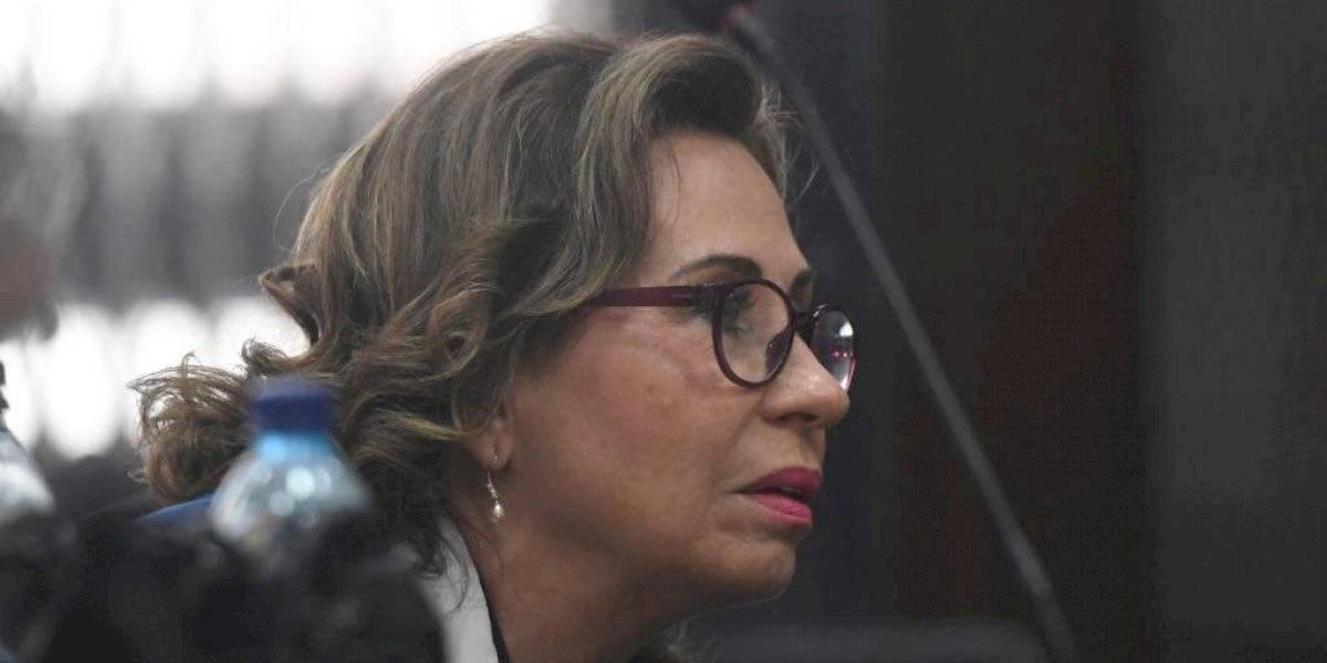 Sistema Penitenciario recomienda trasladar a Sandra Torres a hospital privado