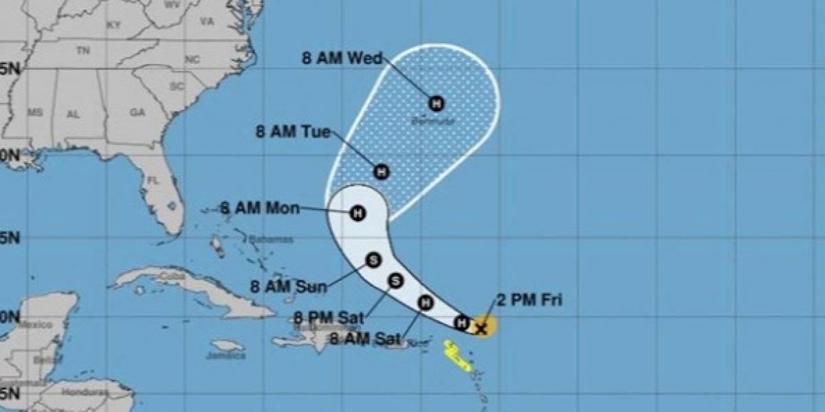 Sigue debilitándose el huracán Jerry