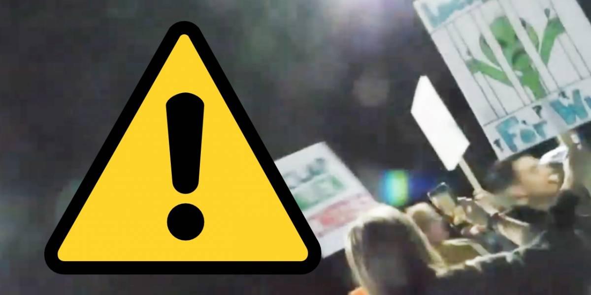ATENCIÓN: Están eliminando las transmisiones en vivo de la invasión al Área 51