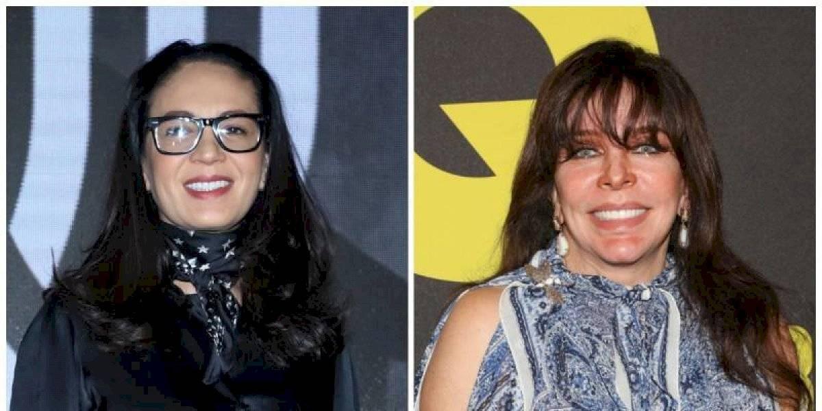 Filtran fotos que muestran la relación íntima de Verónica Castro y Yolanda Andrade