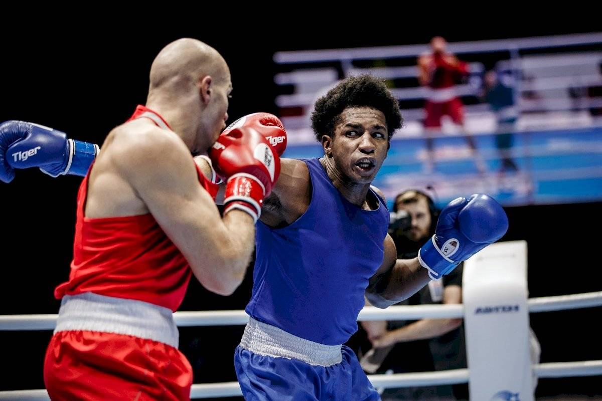 Julio César Castillo quedó segundo en el mundial de boxeo AIBA