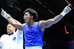 Julio César Castillo quedó segundo en el mundial de boxeo